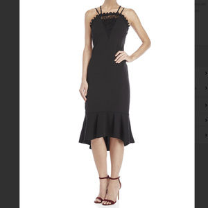 NWT ABS COLLECTION Sleeveless Lace Midi Dress 8